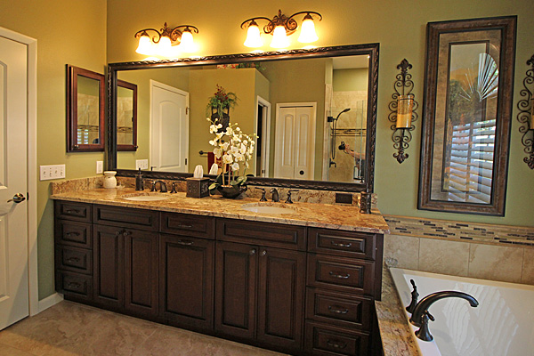 Awesome Custom Bathrooms Ottoson Enterprises Custom Cabinets Beutiful Home Inspiration Semekurdistantinfo